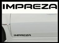 SUBARU IMPREZA CAR BODY DECALS